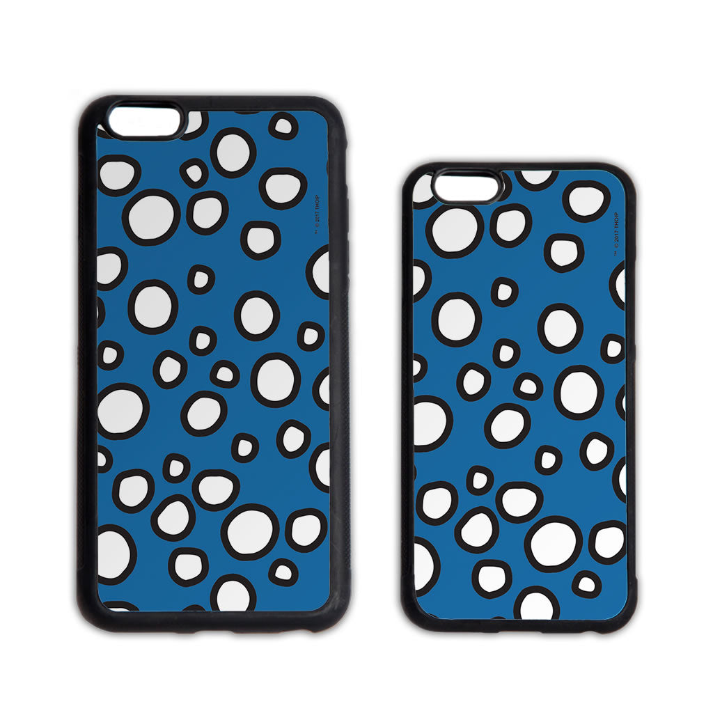 Mr. Men Retro Blue Dots Phone Case