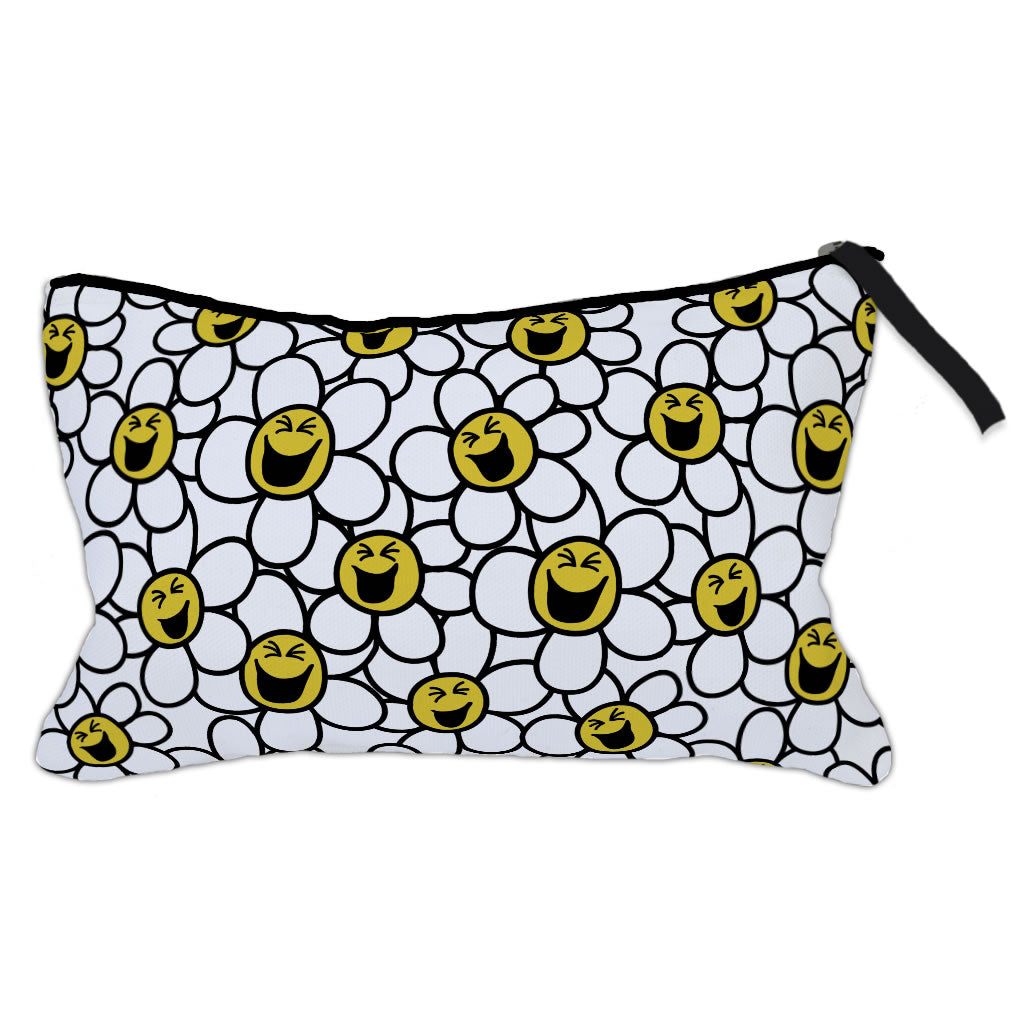 Laughing Daisies Make-Up Bag