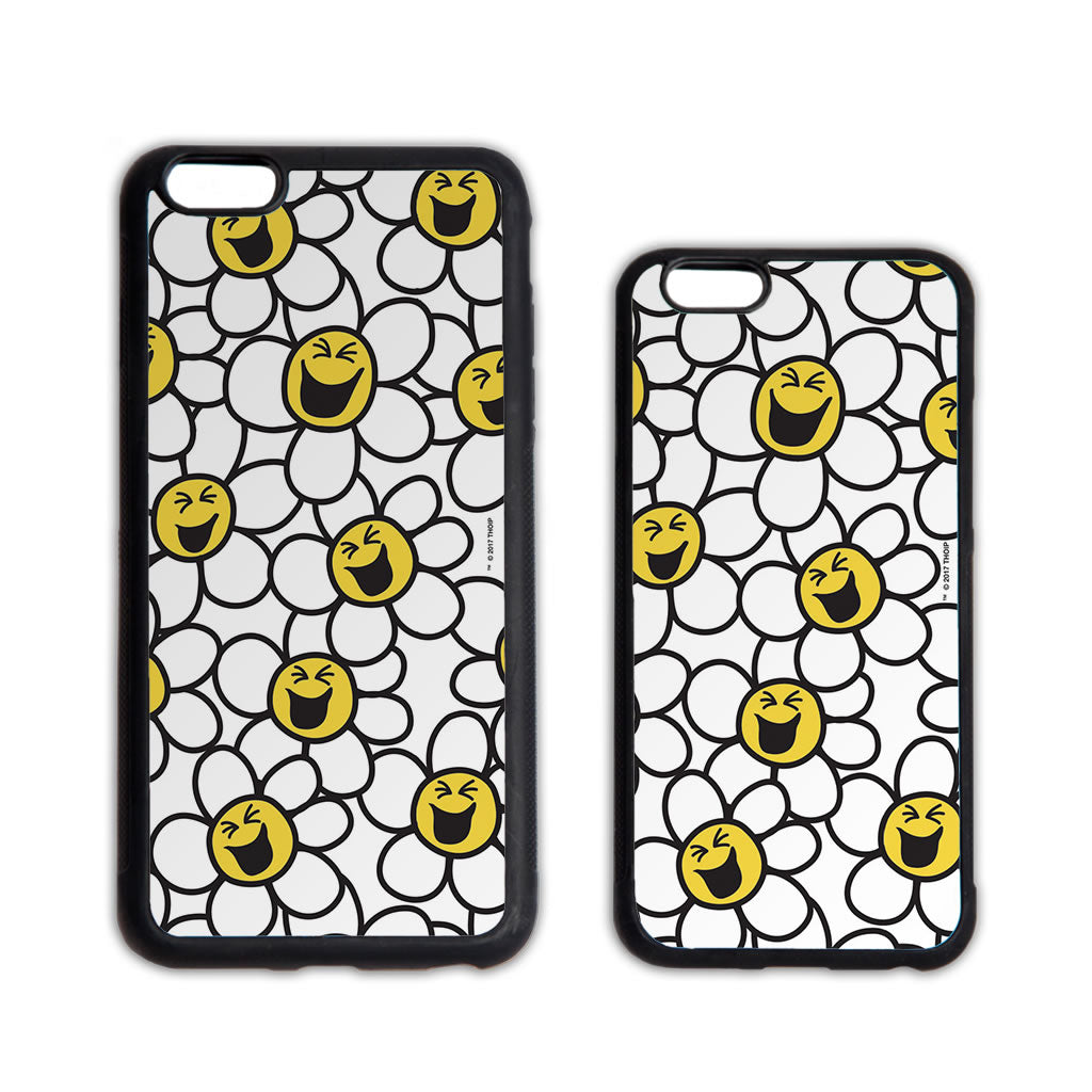 Laughing Daisies Yellow Pattern Phone Case