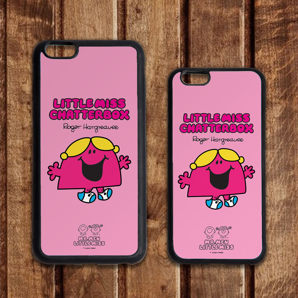 Little Miss Chatterbox Retro Phone Case