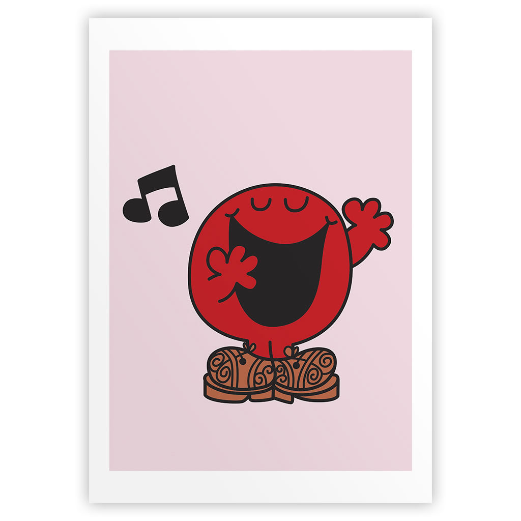 Mr. Noisy Music Art Print