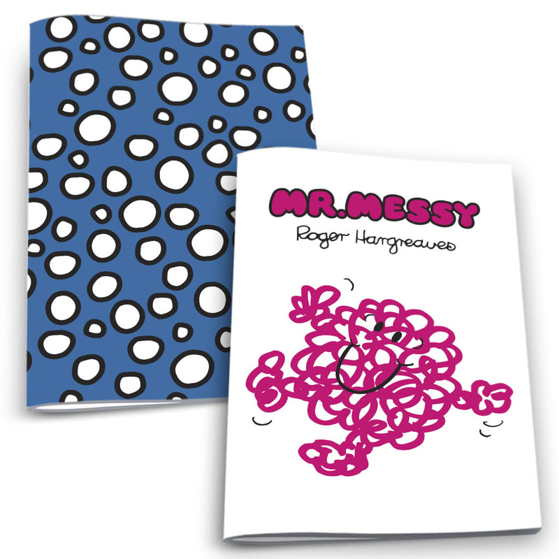 Mr. Messy and Dots Notebook 2 Pack