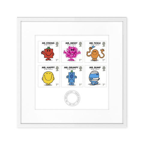 Mr. Men Royal Mail stamps print