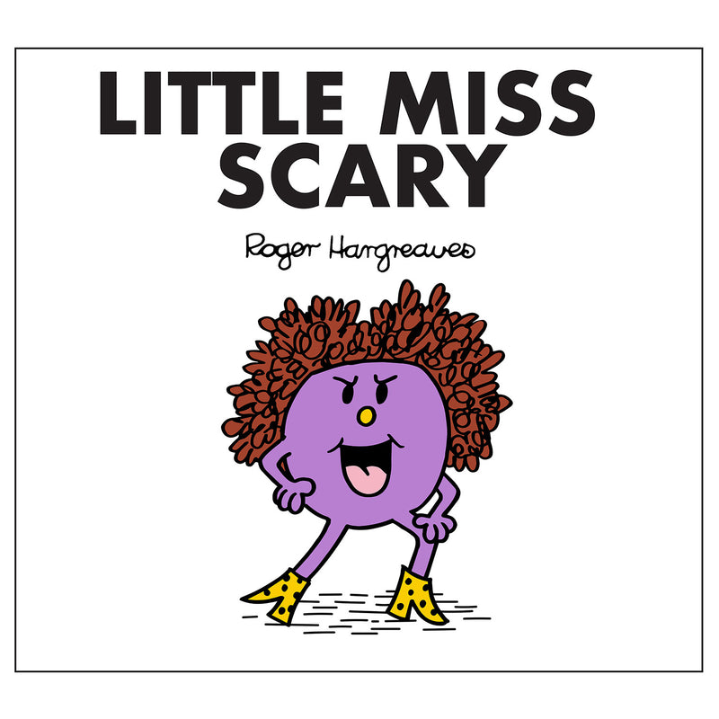 Little Miss Scary Spice Girls Book