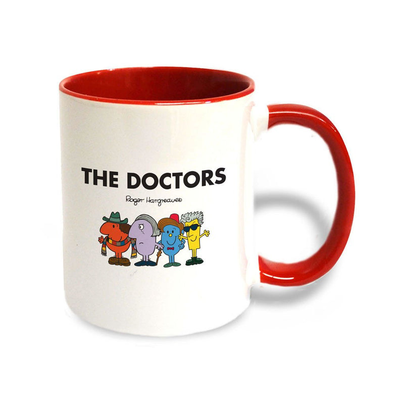 The Doctors Large Porcelain Colour Handle Mug