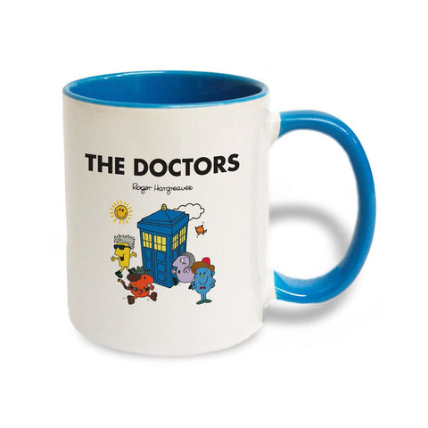 Doctors Tardis Large Porcelain Colour Handle Mug