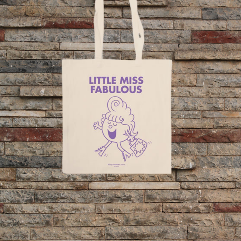 Little Miss Fabulous Tote Bag