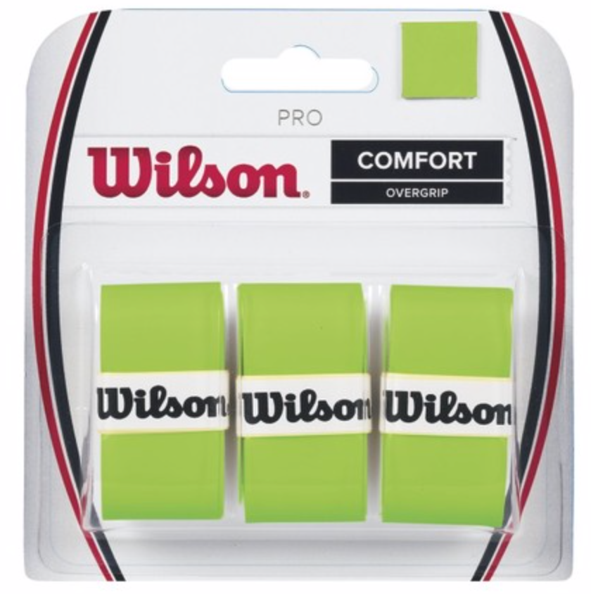 Wilson Pro Overgrip 3 Pack Blade Green