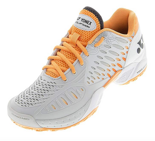 Yonex Women's Power Cushion Eclipsion  Gray / Orange trim