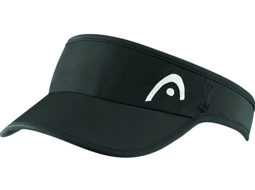 Head Pro Player Women's Visor Black