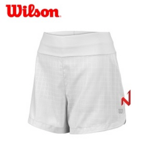 "Wilson Star Windowpane 4"" Short White"