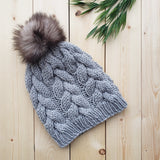 Knit Toque with Pompom