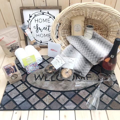 Luxury New Home Gift Basket