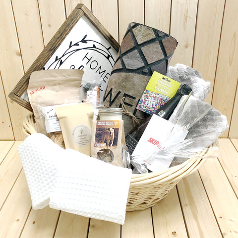 Supreme New Home Gift Basket
