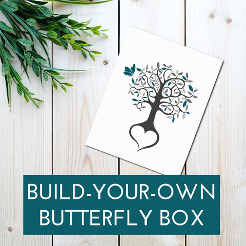 BUILD YOUR OWN BUTTERFLY BOX