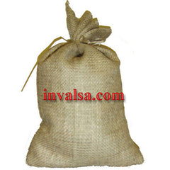 "Small (10"" x 14"") Burlap Bag Holds 5-8 lbs Plus free coffee sample."