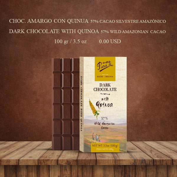 Bolivian Chocolates Para Ti. Sampler Pack A. Includes free US shipping