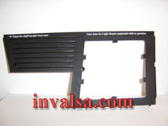 Hottop: Left Control Panel Plastic Surface, OEM