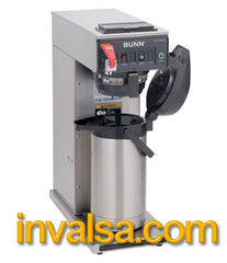 Bunn CWTF15-APS Single Airpot Coffee Brewer Automatic w/faucet + free roasted coffee