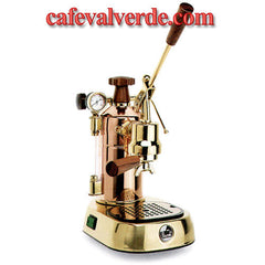 La Pavoni Professional, Gold-Brass, 16 cup capacity