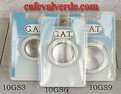 Stove Top Brewers: G.A.T. Rubber Gaskets/Screen Sets