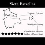 Bolivia Micro-lot: Organic Peaberry (Siete Estrellas) Available only in Salisbury, MA. NEW ARRIVAL!