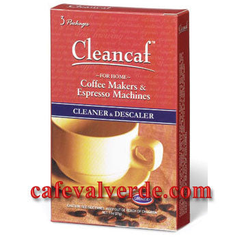 Urnex: 3 packet box Cleancaf Brand Cleaner and Descaler