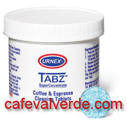 Urnex: 30 tablet jar TABZ Coffee Brewer Cleaning Tablets