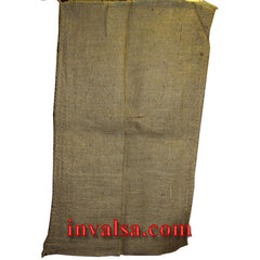 "Medium Large (14"" X 26"") Burlap Bag Holds 30-34 lbs. Plus free coffee sample"