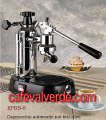 La Pavoni Europiccola Chrome/Color Bases, 8 cup capacity