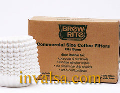 Brew Rite Commercial 12-cup Flat Bottom Coffee Filters (Fits Bunn)