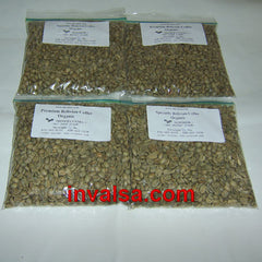 Bolivia/Colombia Micro Lots Sampler Pack E: Four half-pound green coffees