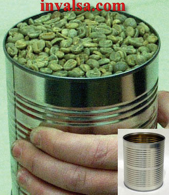 Sonofresco: Green Bean Measuring Can, OEM