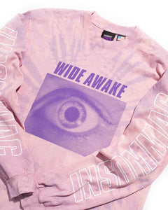 Into The Void L/S Tee Eggplant