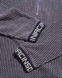 Stockton Half Zip Purple