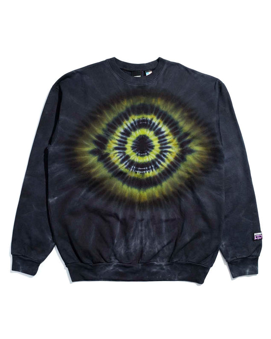 Eye Burst Crewneck Black