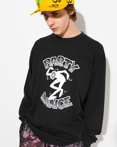 Party Dance L/S Tee Black