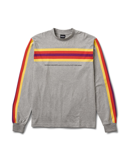 No Doze L/S Stripe Tee