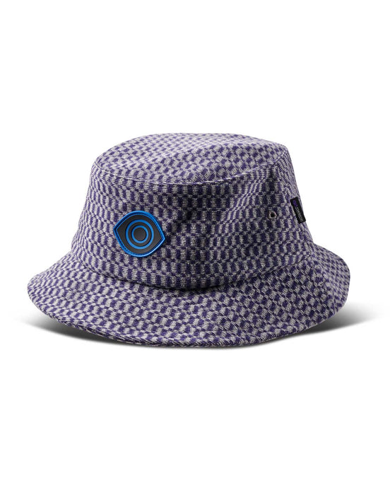Hounds Bucket Hat Purple/Heather