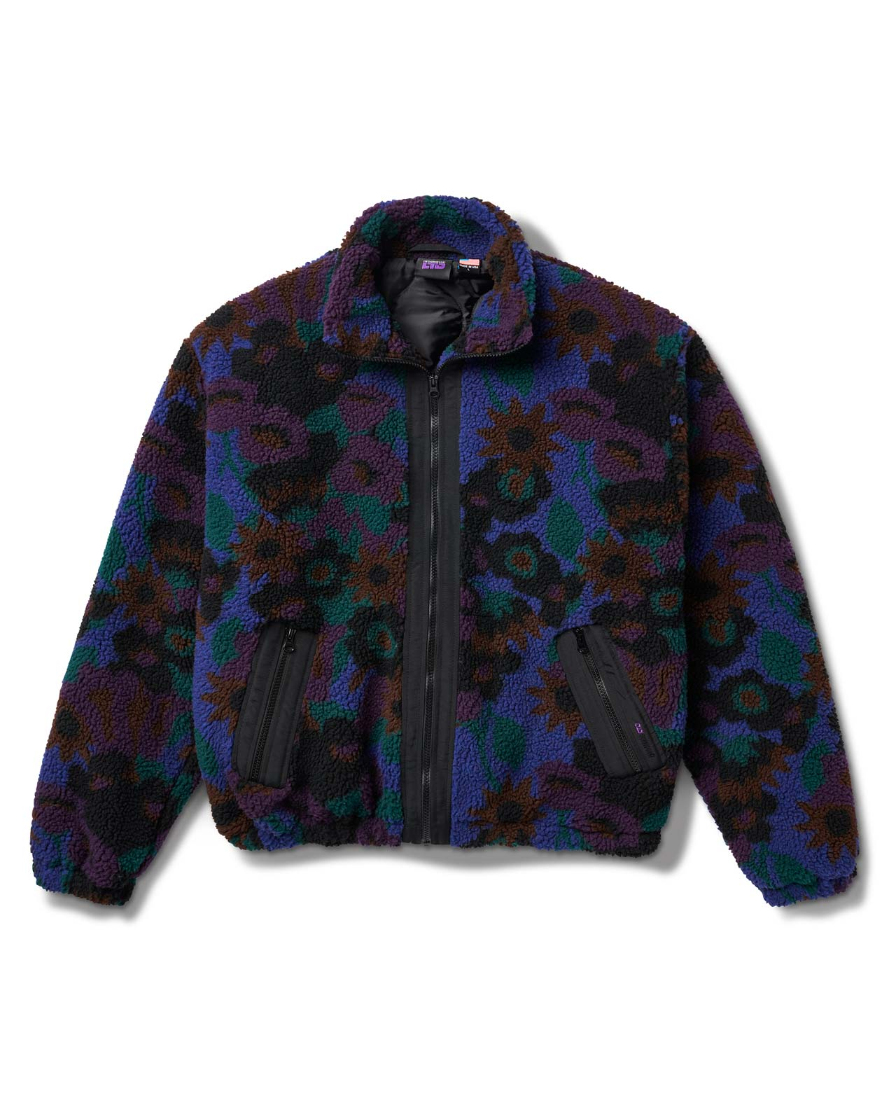 Floradelic Jacket Black