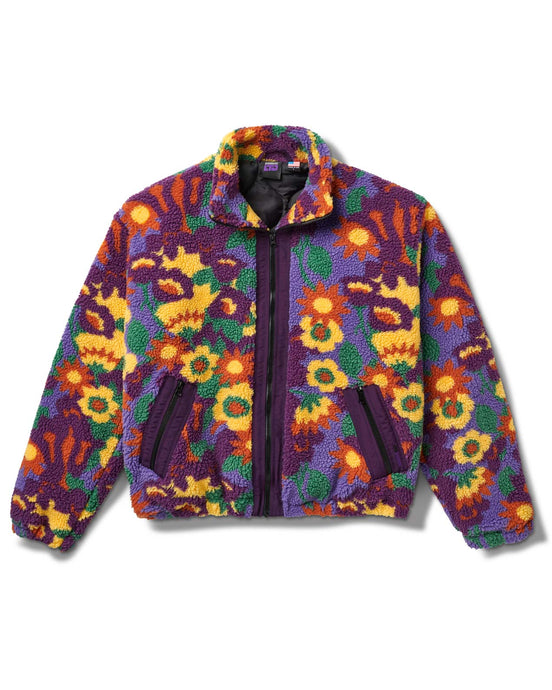 Floradelic Jacket Purple