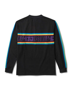 Gleamers Long Sleeve T Shirt Black