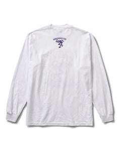 Party Dance L/S Tee White