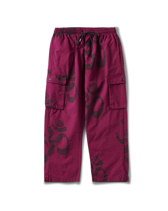 Ohm Eye Cargo Pant Berry