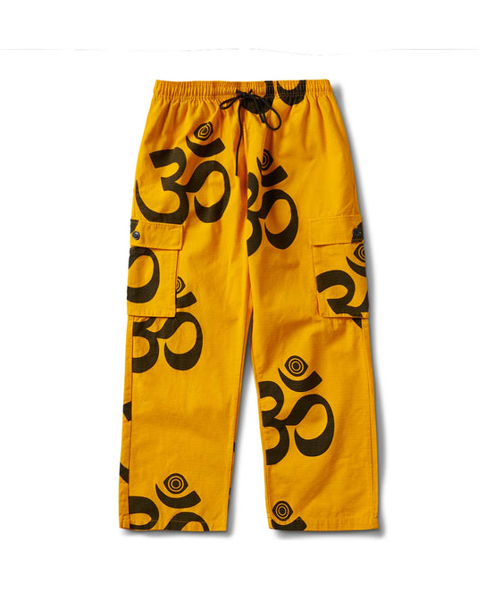 Ohm Eye Cargo Pant Gold