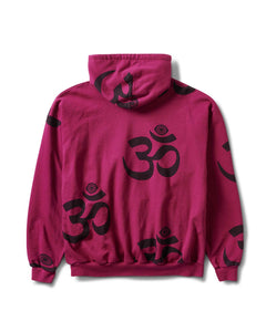 Ohm Eye Pullover Hoody Berry