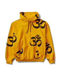 Ohm Eye Pullover Hoody Gold