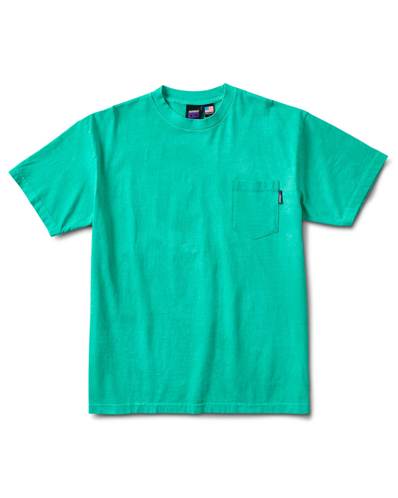 Rb S/S Pocket Tee Green