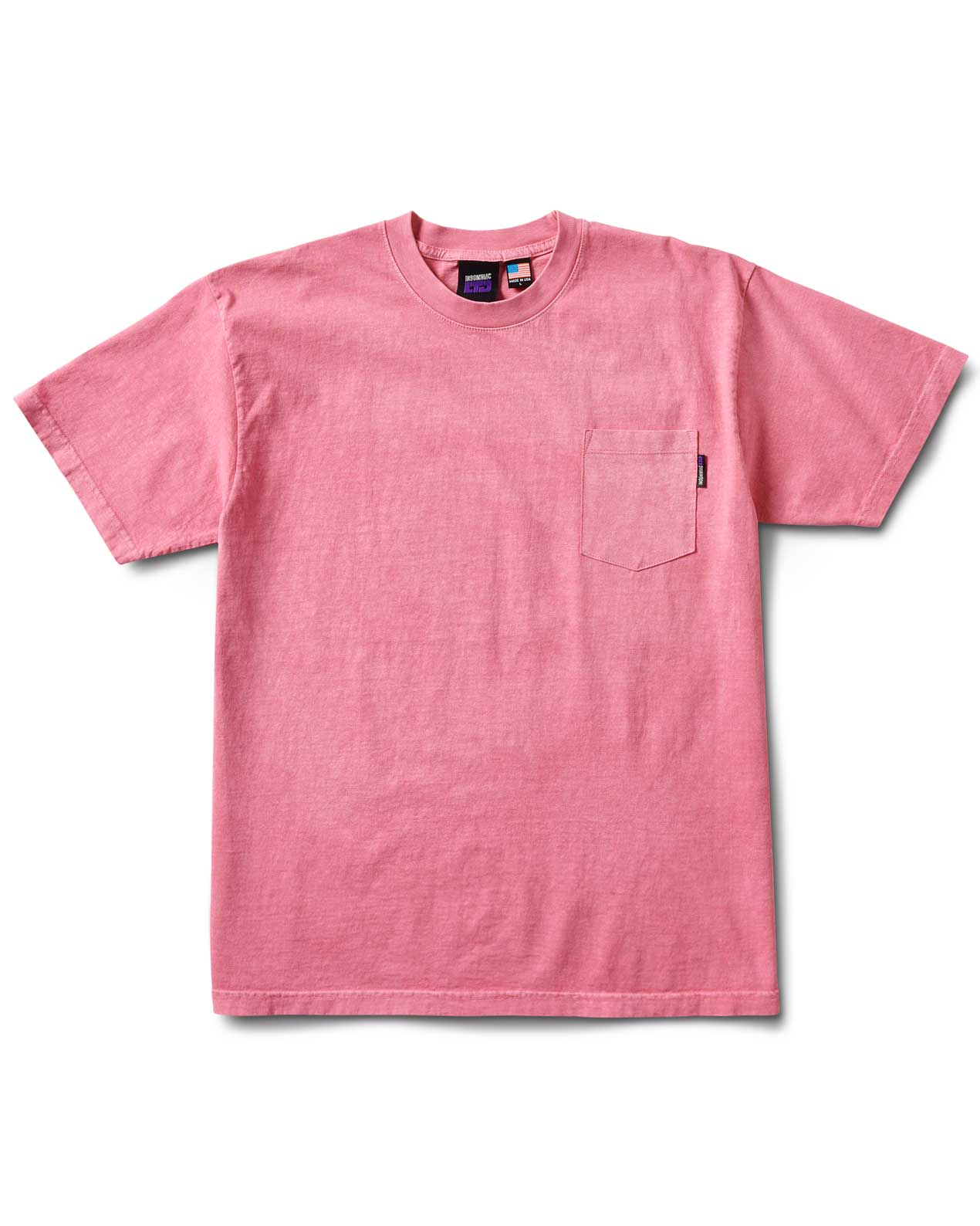Rb S/S Pocket Tee Peach