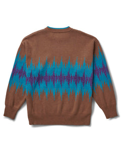 Frequency Sweater Brown
